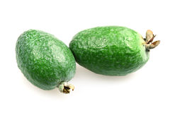 Fruit feijoa, pineapple guava Royalty Free Stock Photos