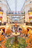 Fruit festival inside GUM department store in Moscow Royalty Free Stock Photography