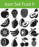 Fruit figé II d'icône Image libre de droits