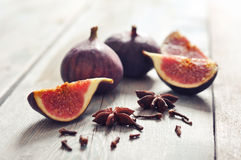 Fruit figs Royalty Free Stock Images