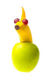 Fruit figure Royalty Free Stock Images