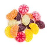 Fruit Flavored Hard Candy Stock Photography