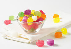 Fruit Flavored Hard Candy Royalty Free Stock Image