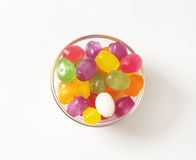 Fruit Flavored Hard Candy Royalty Free Stock Photos