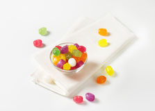 Fruit Flavored Hard Candy Royalty Free Stock Photography