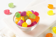 Fruit Flavored Hard Candy Royalty Free Stock Photo