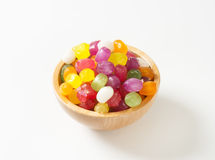 Fruit Flavored Hard Candy Stock Photos