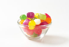Fruit Flavored Hard Candy Royalty Free Stock Images