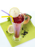 Fruit flavored ice tea Royalty Free Stock Photography