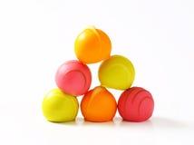 Fruit flavored pralines Stock Image