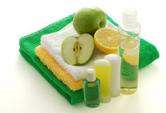 Fruit flavored SPA Stock Photography