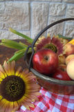 Fruit and flower Stock Images