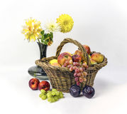 Fruit and Flowers Stock Photos