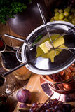 Fruit fondue Royalty Free Stock Image