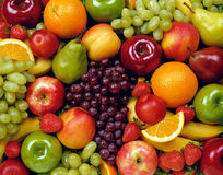 Fruit, foodstuff Stock Photos