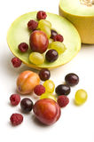 Fruit fountain Royalty Free Stock Images
