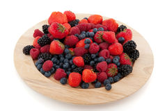 Fruit frais de diversité Image libre de droits