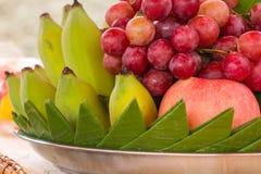 Fruit frais de jardin organique photographie stock libre de droits