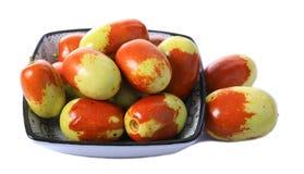 Fruit frais de jujube images libres de droits