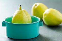 Fruit frais de poire Photographie stock