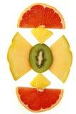 Fruit frais mélangé Photos stock