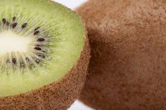Fruit of fresh kiwi on white background Royalty Free Stock Photography