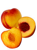 Fruit fresh a peach and apricot hybrid Royalty Free Stock Images