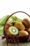 Fruit fresh sweet ripe kiwi Stock Images