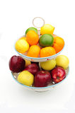 Fruit on fruit stand. Shot of some delicious fruit on a fruit stand Stock Photography