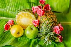 Fruit gai, fruits mélangés Images libres de droits