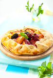 Fruit galette Royalty Free Stock Photography
