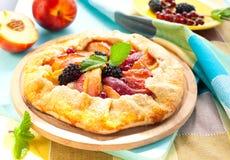 Fruit galette royalty free stock photos
