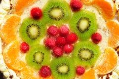 Fruit gateau cake stock photography