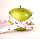 Fruit - geïsoleerdel Appel royalty-vrije stock foto's