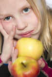 Fruit Girl royalty free stock photos