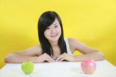 Fruit girl Royalty Free Stock Image