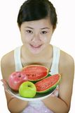 Fruit girl Royalty Free Stock Image