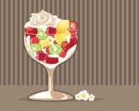 Fruit glass Royalty Free Stock Photos