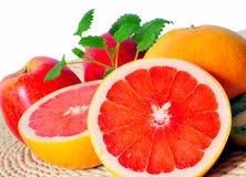 Fruit Grapefruit vitamins Stock Images