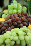 Fruit. Green and red grape in the market Royalty Free Stock Images