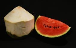Fruit group shake on blackground Royalty Free Stock Image