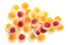 Fruit gum Royalty Free Stock Images