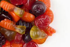 Fruit gummies Royalty Free Stock Photo