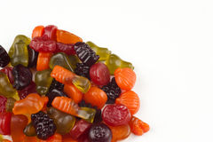 Fruit gummis Royalty Free Stock Images