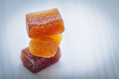 Fruit gums Stock Image