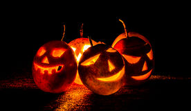 Fruit Halloween Stock Images