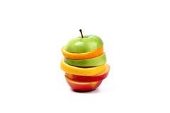 Fruit hamburgher Stock Photo