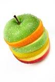 Fruit hamburgher Stock Image