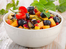Fruit healthy salad Stock Photography
