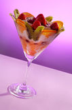 Fruit Ice Cream Royalty Free Stock Image